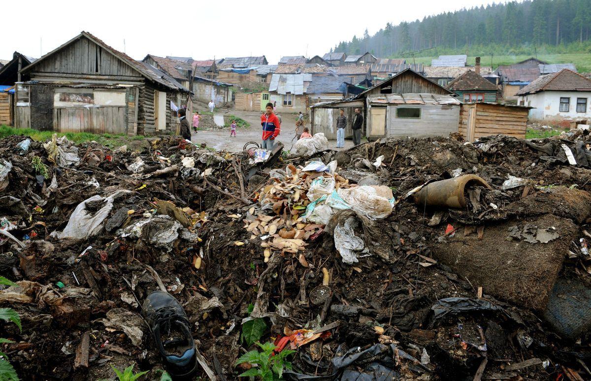Image result for romská osada trebišov