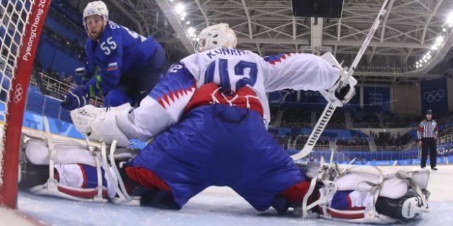 53cd60800c9f2 ZOH 2018 v Pjongčangu (online – hokej): Slovensko – Slovinsko ...