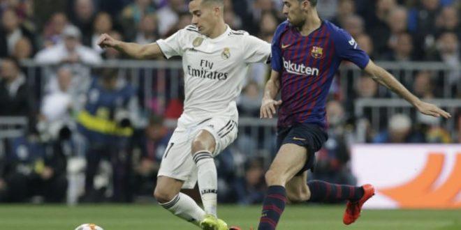 f85c5ed3b90de Video: El Clásico v Madride sa skončilo prehrou Realu, FC Barcelona si  zahrá finále Copa del Rey