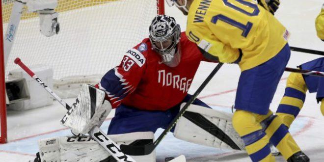 """c929827957a87 Video: Švédsko sfúklo na MS v hokeji 2019 Nórsko, """"tri korunky"""" strelili  deväť gólov"""